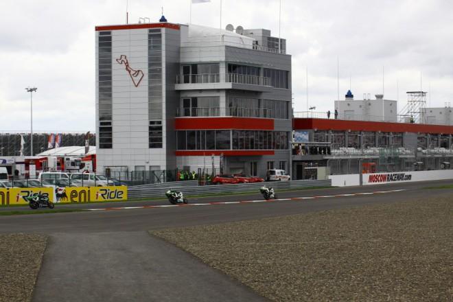 Moscow Raceway: Budov�n� infrastruktury