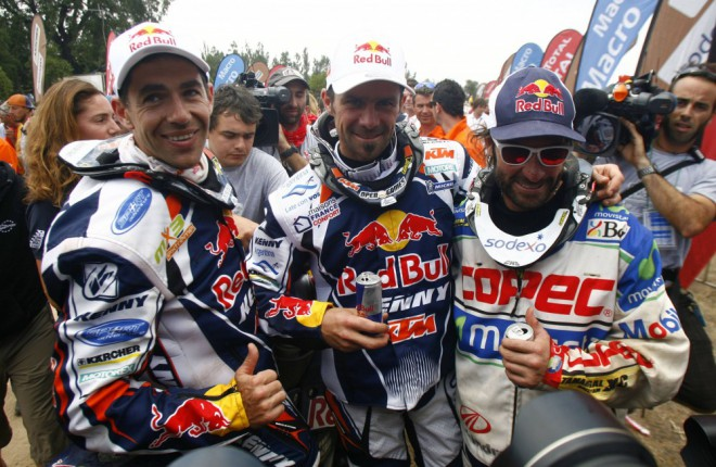 Despres zapsal do historie Dakaru svùj pátý triumf