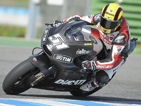 Ducati ukon�ila testov�n� v Jerezu