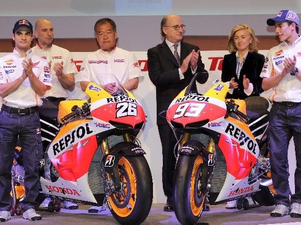 Repsol-Honda: Nejen nová jezdecká dvojice!