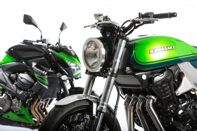 Kawasaki Z1000 - koncept ke 40. výroèí