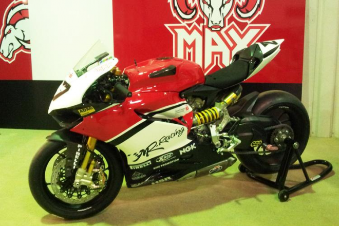 Tak vypadá nová MR Ducati Maxe Neukirchnera