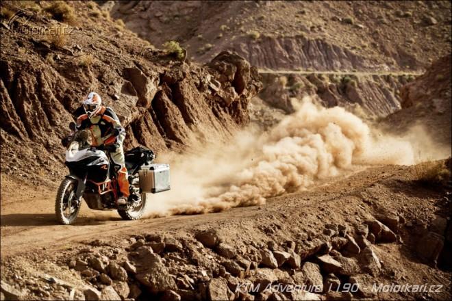 Testujeme KTM Adventure 1190