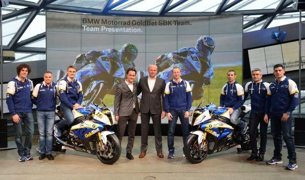 BMW Motorrad GoldBet SBK Team 2013