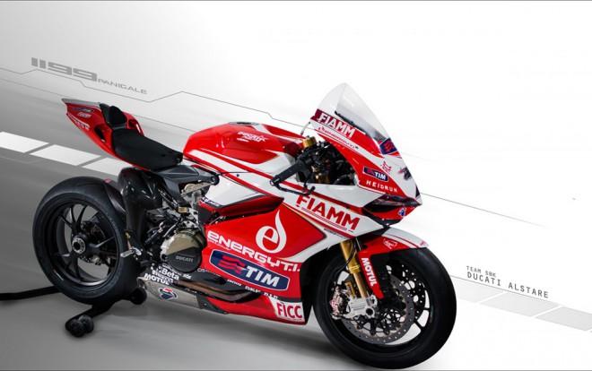 Nové barvy Ducati Alstare