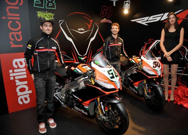 Aprilia ukázala letošní superbikovou motorku