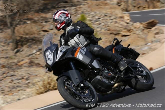 Prvn� j�zda na KTM 1190 Adventure