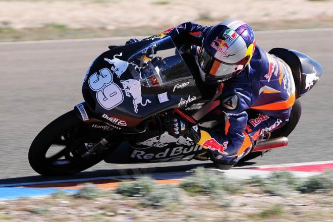 Almeria: KTM 2013 poprvé na trati