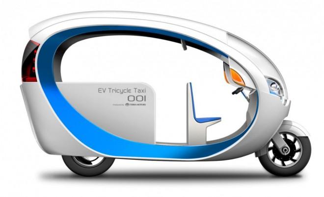 Terra Motors e-Trike: rikša budoucnosti