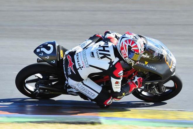 Testy Moto3 - Valencia, 1. den