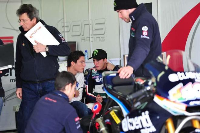 Testy Moto2 - Valencia, 3. den