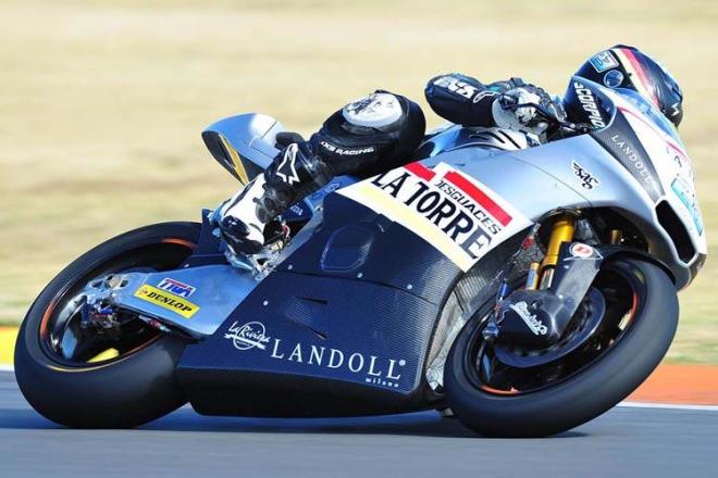 Schr�tter: Motocykl Kalex kompletn� zni�en, jezdec je bez smlouvy