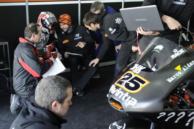 Testy Moto3 - Valencia, 3. den