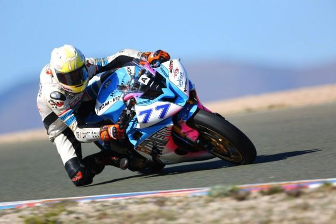 BMW Sikora Motorsport a Dafit Moto Racing team na prvním testování sezony 2013.