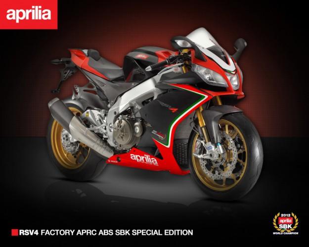 Aprilia RSV4 Factory APRC ABS SBK - US Special Edition