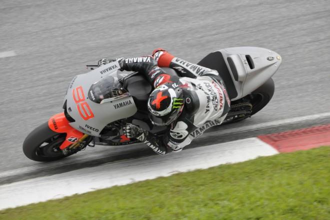 Lorenzo byl nejrychlej��m jezdcem Sepangu II.