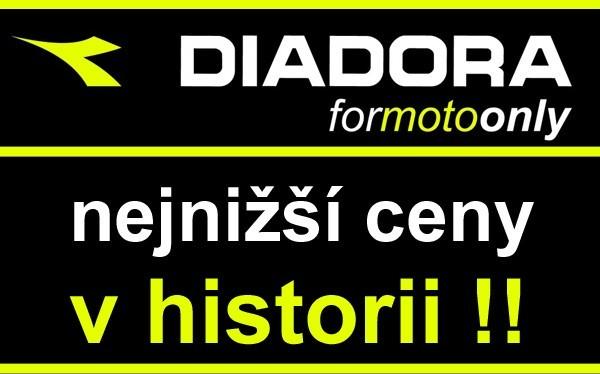 Výprodej motocyklových bot znaèky Diadora