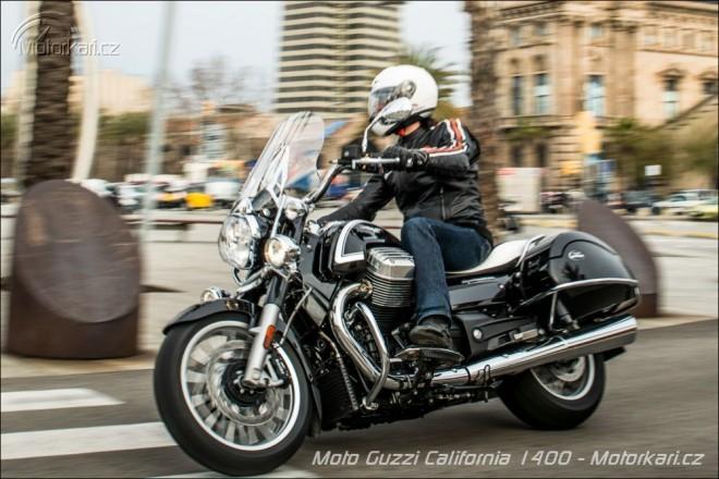 První svezení na Moto Guzzi California 1400 Custom & Touring