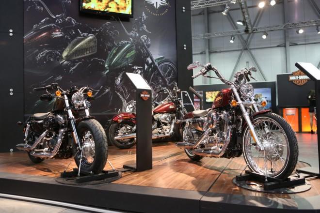 Motosalon 2013: Harley-Davidson