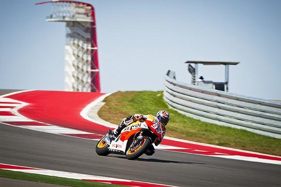 První den testù MotoGP v Austinu