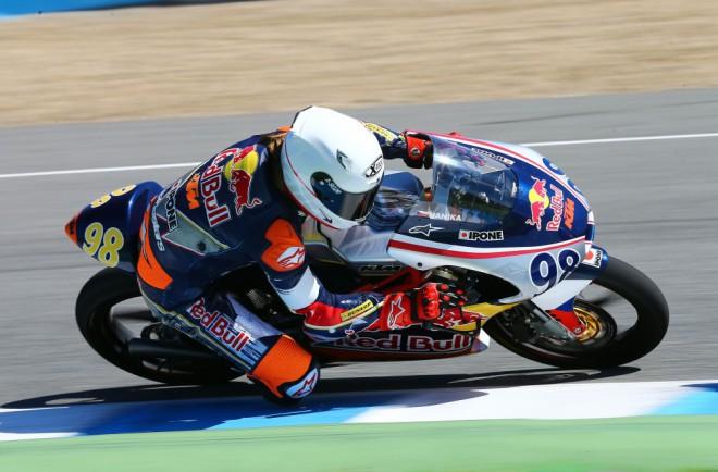 Testy v Jerezu: Nejrychlejším opìt náš Hanika