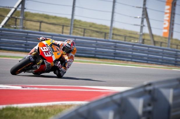 Tøetí den testù MotoGP v Austinu
