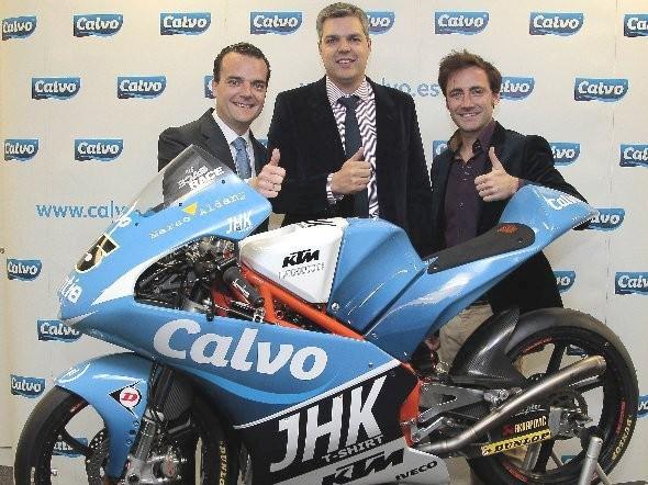 """Viòalesùv tým se nyní jmenuje """"Team Calvo"""""""