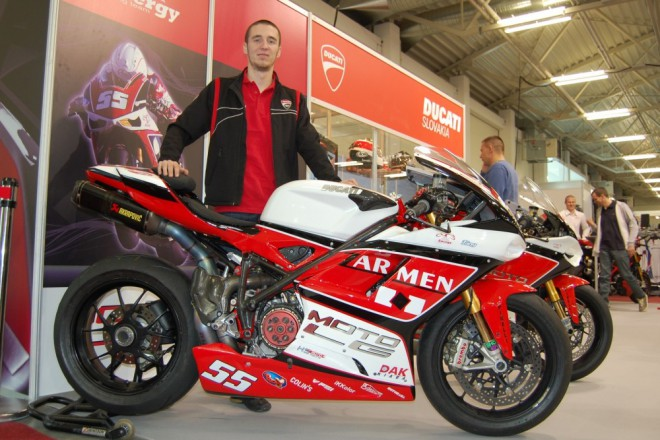 Tomáš Svitok: 2013 v rovnakom tíme, ale s novým motocyklom