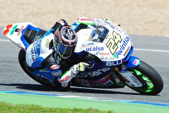 Jerez - testy Moto2, 1. den