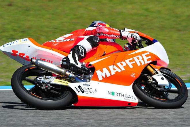 Jerez - testy Moto3, 1. den