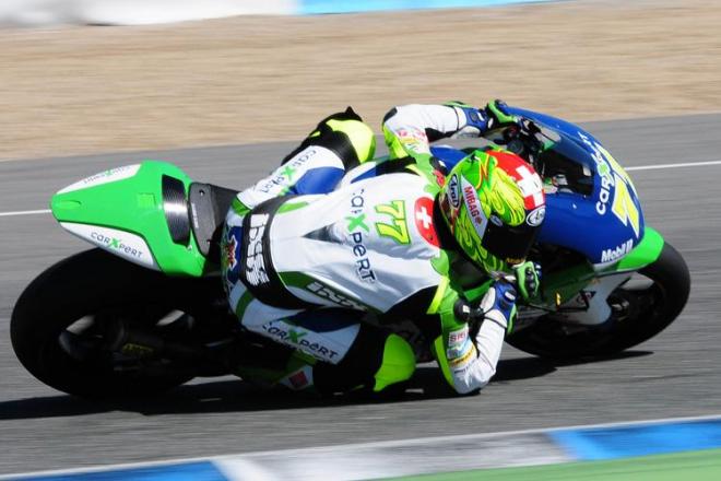 Test Moto2 v Jerezu: Redding pøed Eliasem a Aegerterem