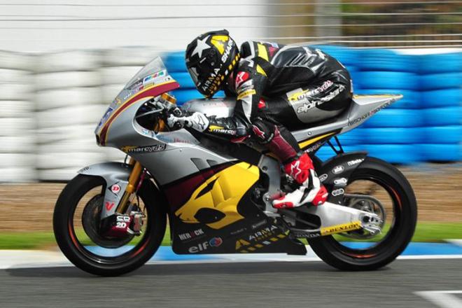 Jerez - testy Moto2, 2. den