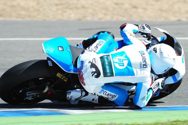 Jerez - testy Moto2, 4. den