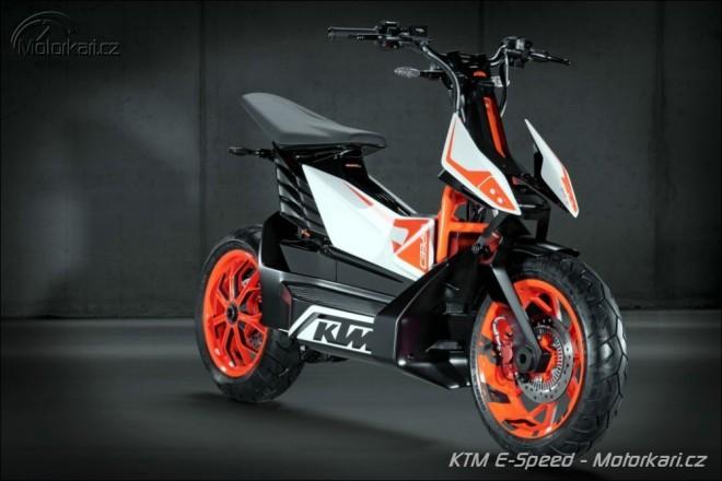 Zna�ka KTM p�ekvapila konceptem elektrosk�tru