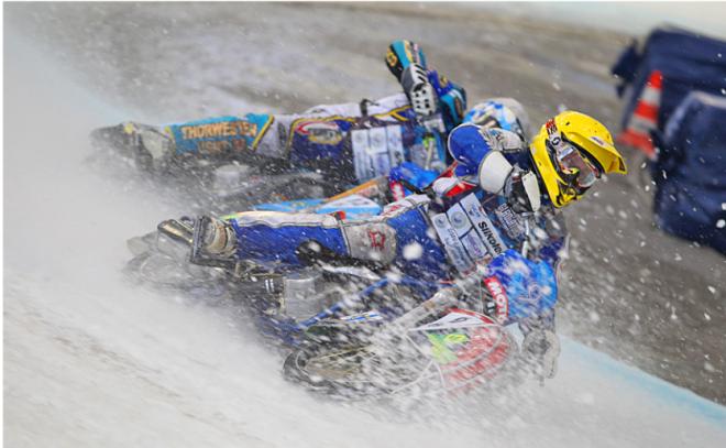 GP-Uppsala: Ivanov je novým mistrem svìta ICE Speedway