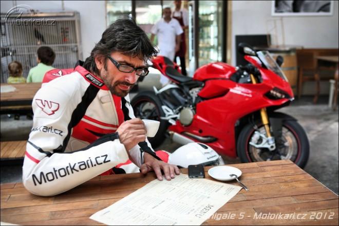 Jeden den s Ducati 1199 Panigale