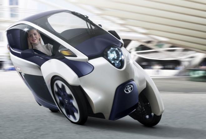 Elektrická tøíkolka Toyota i-Road
