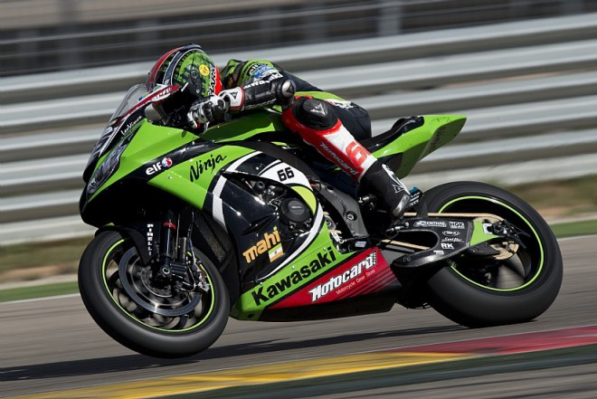 Aragón-Test, 3. den: Suverenní Tom Sykes