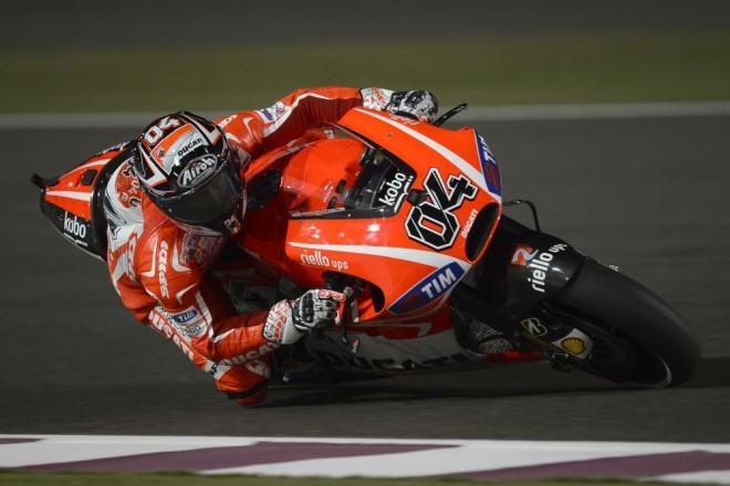 Andrea Dovizioso: Výbuch radosti u Ducati