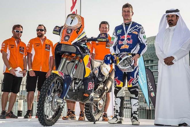 Coma se vrátil triumfem na Abu Dhabi Desert Challenge