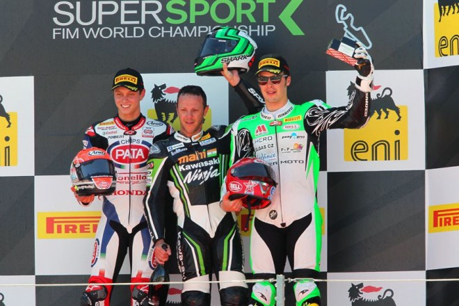 Foret vyhrál v Aragónu supersporty, Scassa dojel tøetí
