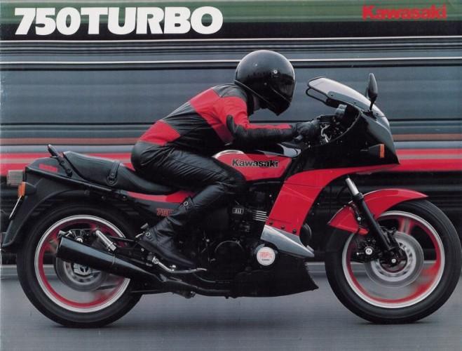 Kawasaki GPZ 750 Turbo:   30. výroèí zrodu legendy
