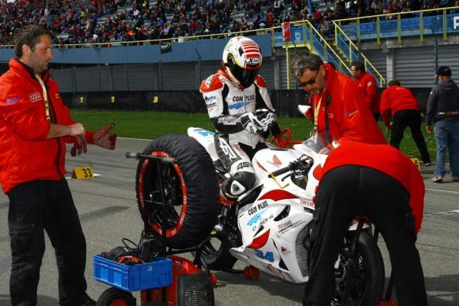 Com Plus SMS Racing: Chladný Assen štìstí nepøinesl