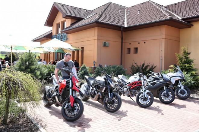 Ducati zahájila testovací Tour 2013