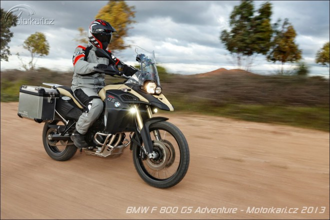 Nové BMW F 800 GS Adventure