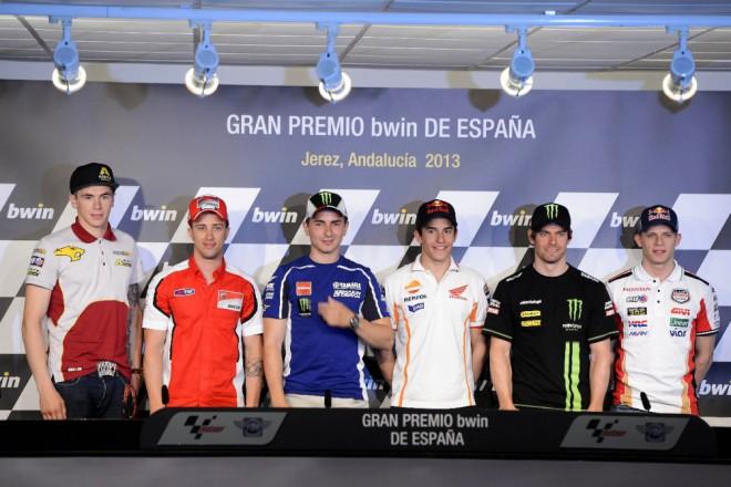 Tisková konference v Jerezu