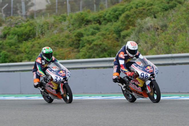 Red Bull v Jerezu podruhé: Karel Hanika opìt druhý