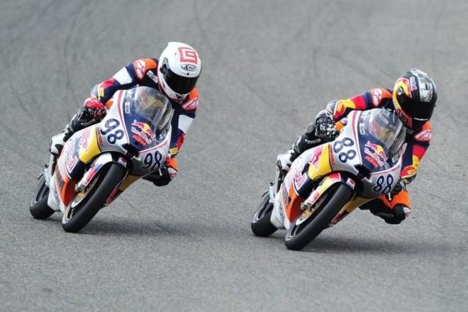 Red Bull v Jerezu poprvé: Hanika druhý