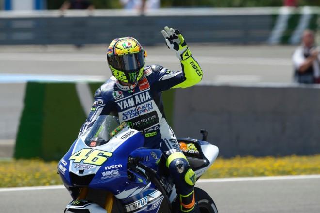 Valentino Rossi po Jerezu