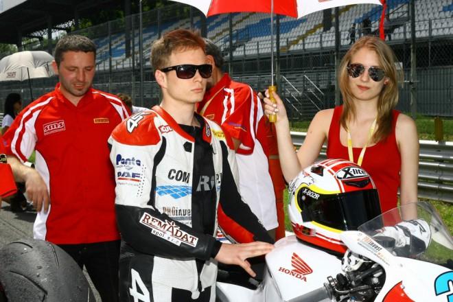 Com Plus SMS Racing: V�kend v Monze prov�zely probl�my